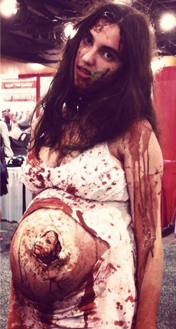Pregnant Zombie Pregnant Zombie Pregnant Halloween Costumes Zombie Couple Halloween Costume Horror Halloween Costumes