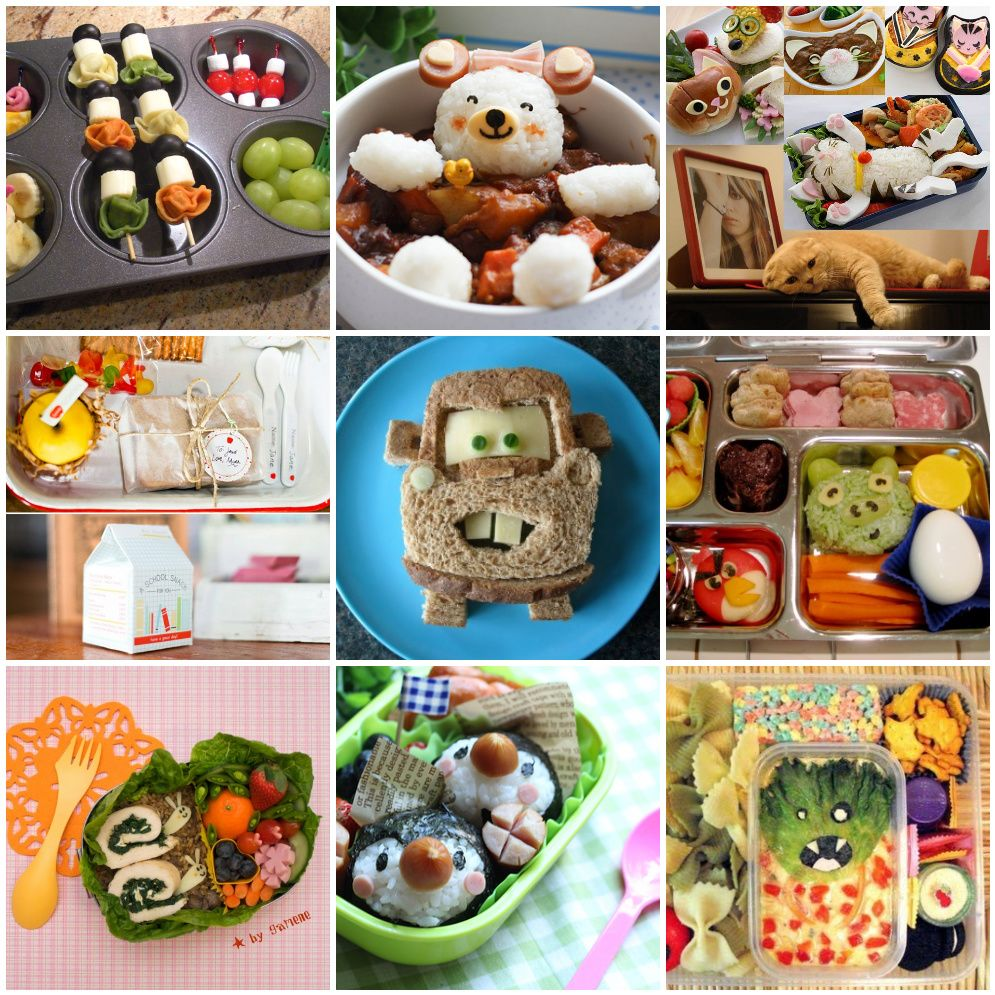 Lunches for kids [click photo]