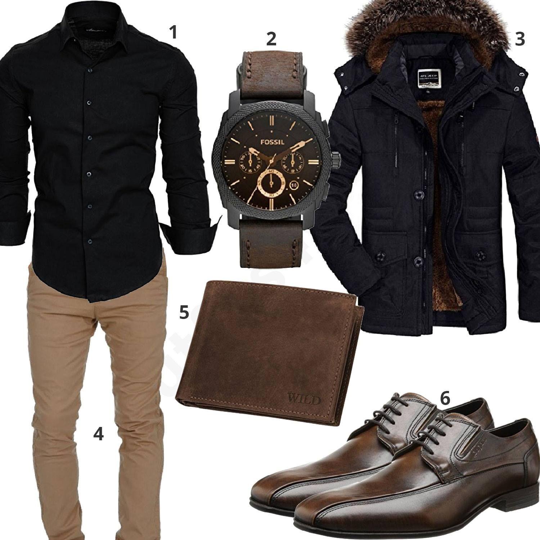 Outfit mit und Business HemdChino MantelOutfitHerren nPwOk0