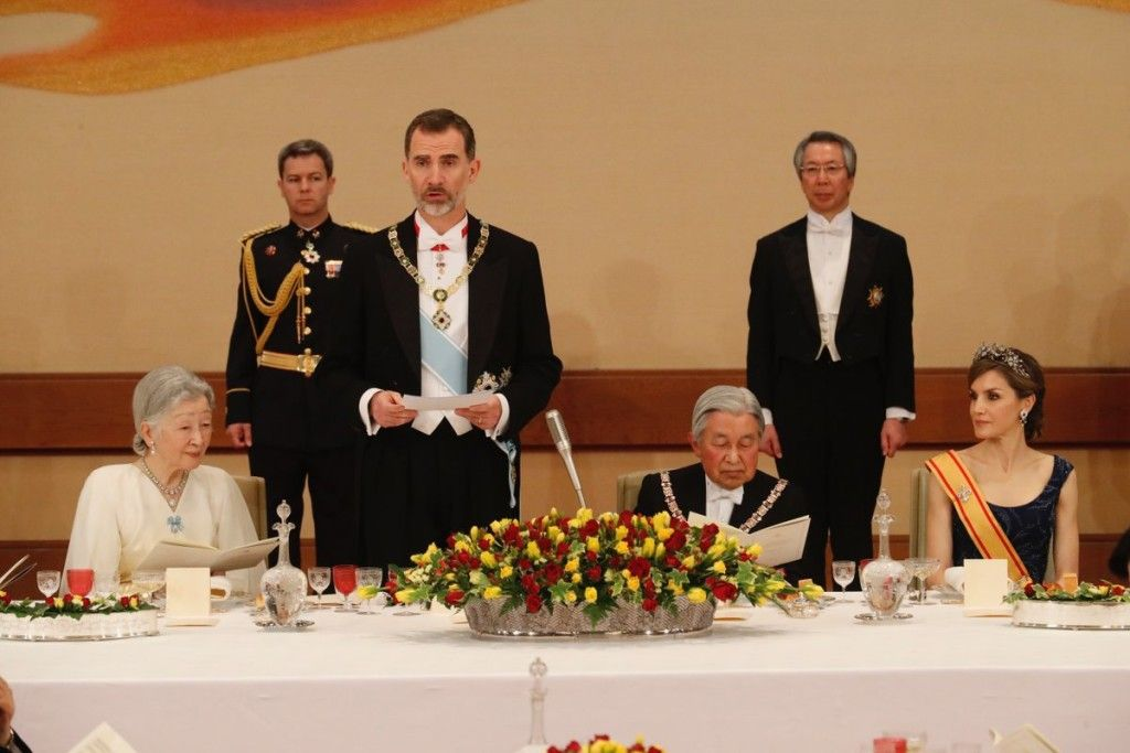 King Felipe and Queen Letizia Visit Japan – Day 1