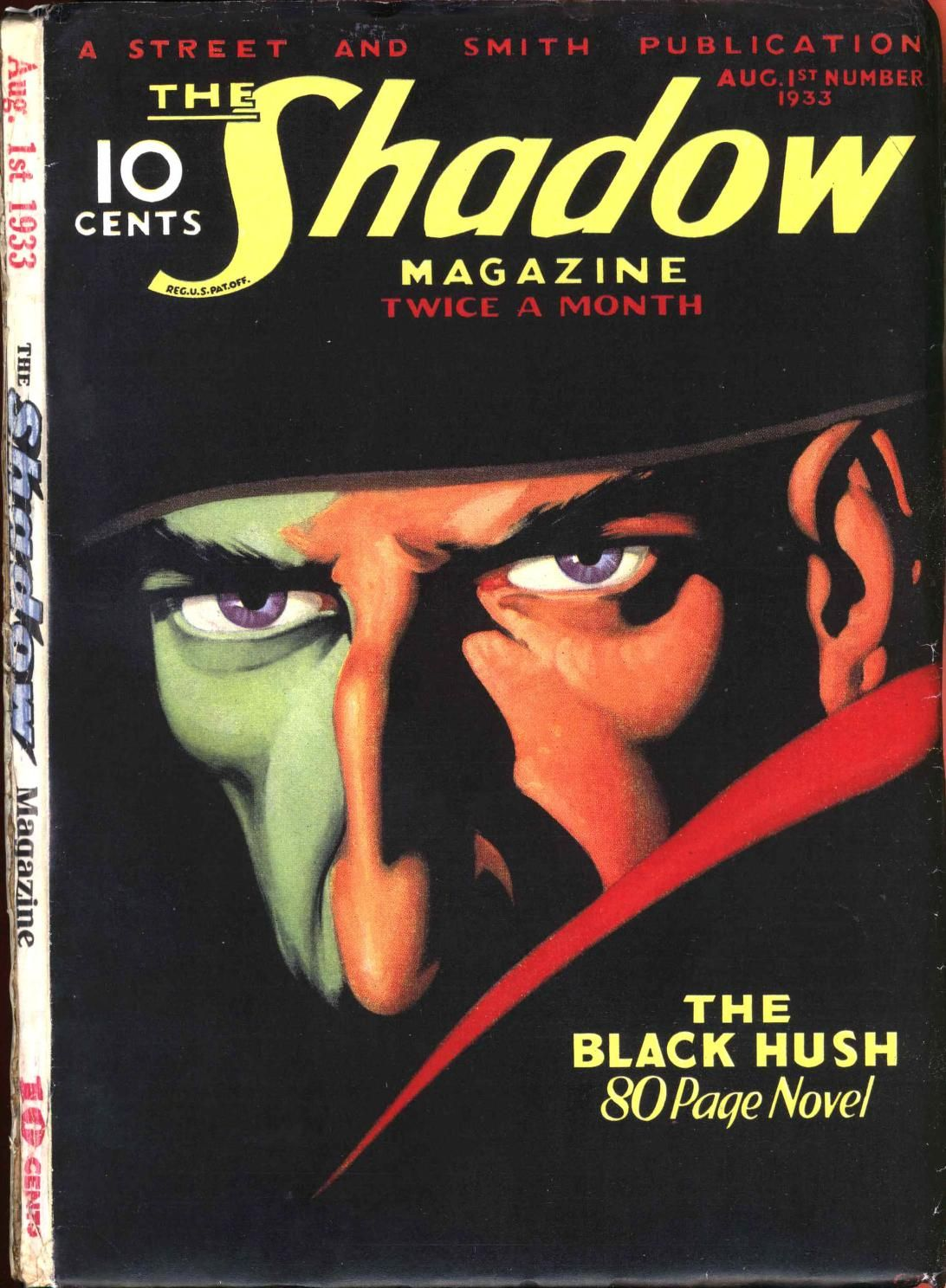 Download The Shadow magazine, from 1933 from archive org, in