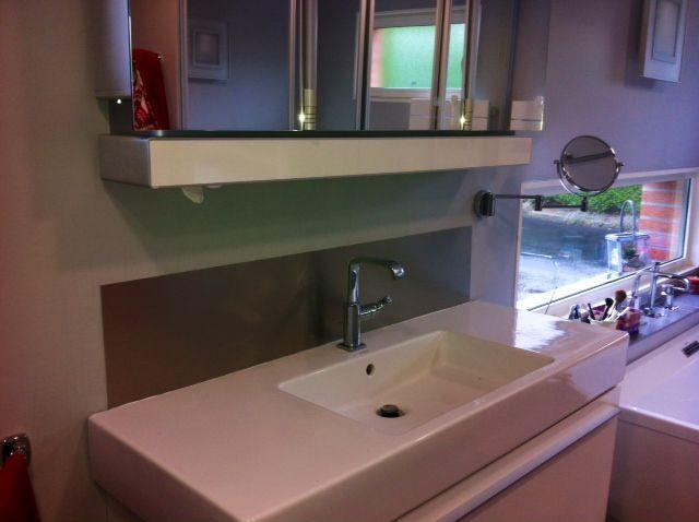 cr dence en aluminium anti traces sur mesure permettant d. Black Bedroom Furniture Sets. Home Design Ideas