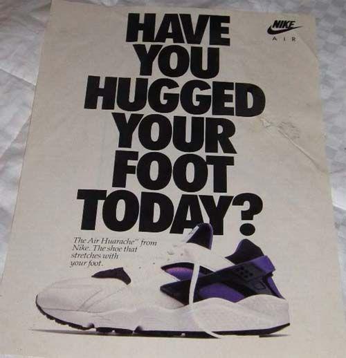 Nike Air Huarache.