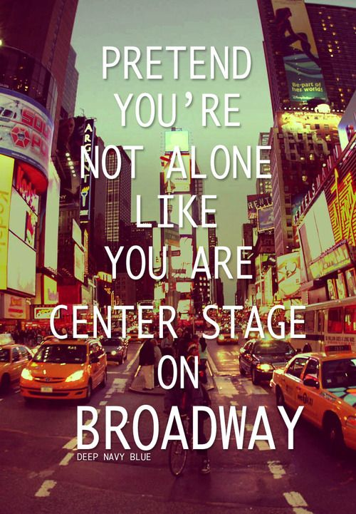 My favorite things: New York City, Broadway, and Adam Young