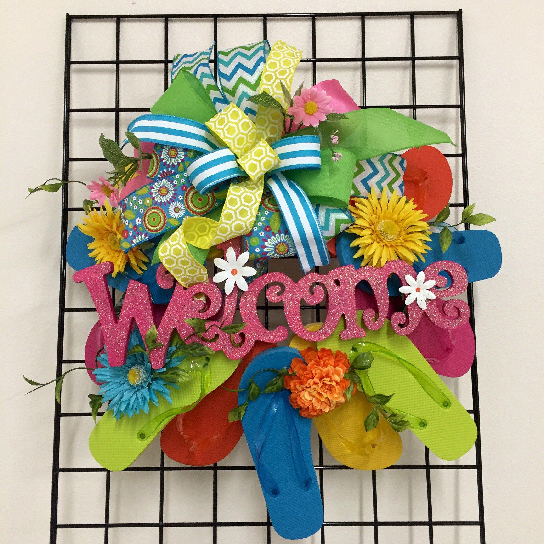 c73dc601606c1a Flip flop wreath