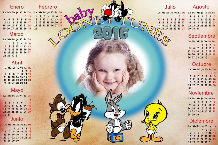calendarios para photoshop calendario del de los baby looney tunes para