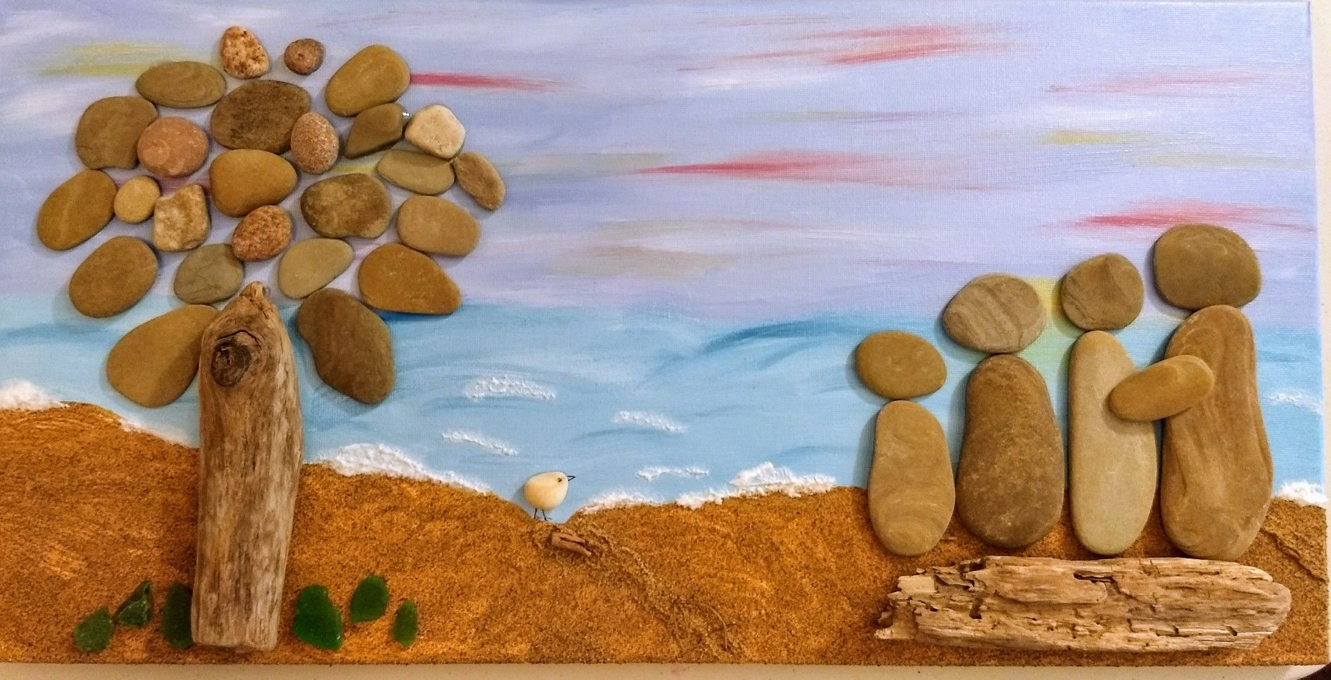 Pin By Denise Heilman On My Paintings Driftwood Painting Art