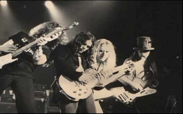 "'75 or earlier | Still shot from a ""Live in Dallas"" radio promo circa 1975"