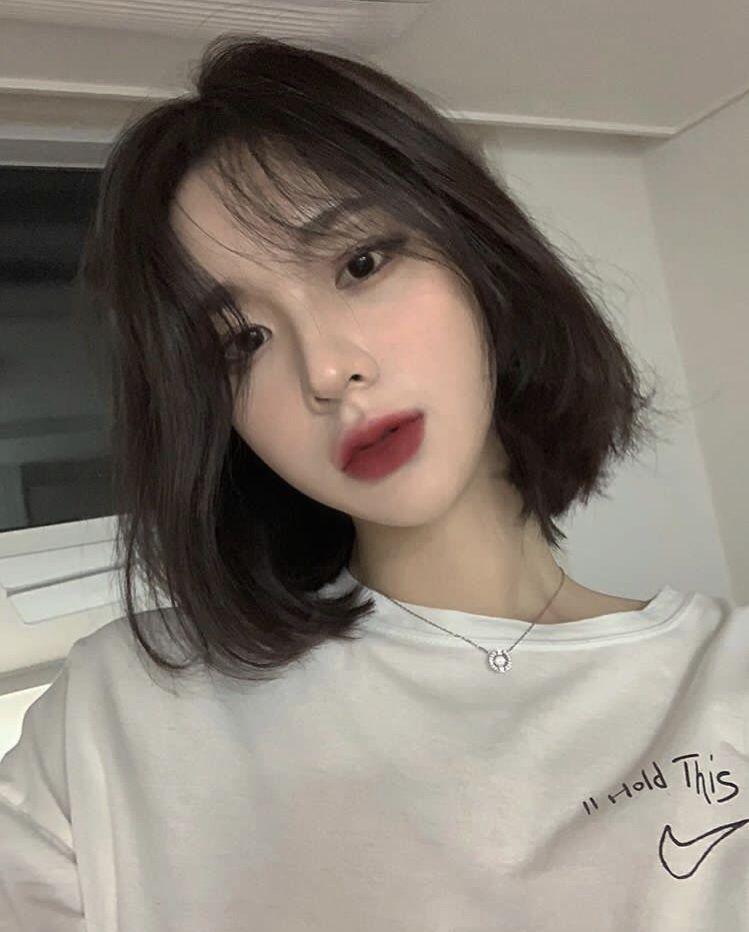 Pin by mark me on make up etc in 2019 | Short hair styles, Korean hair color, Korean short hair