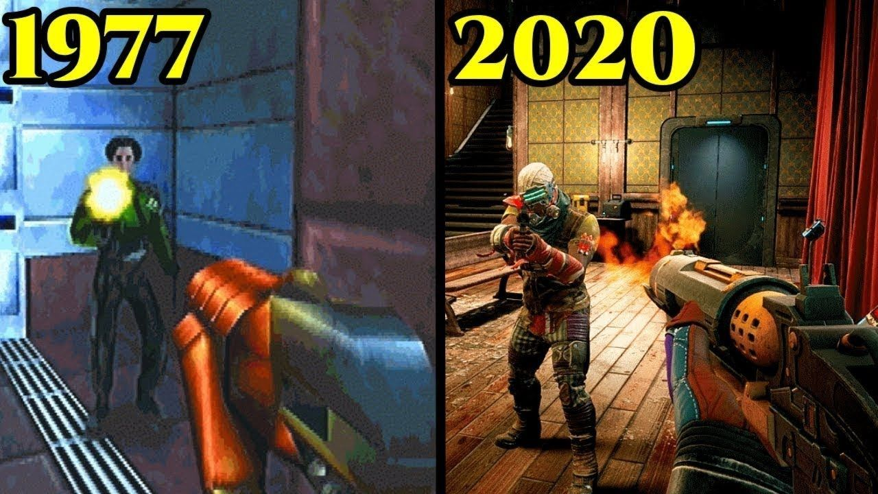 First person Shooter Games Graphics Upgrade from 70s to