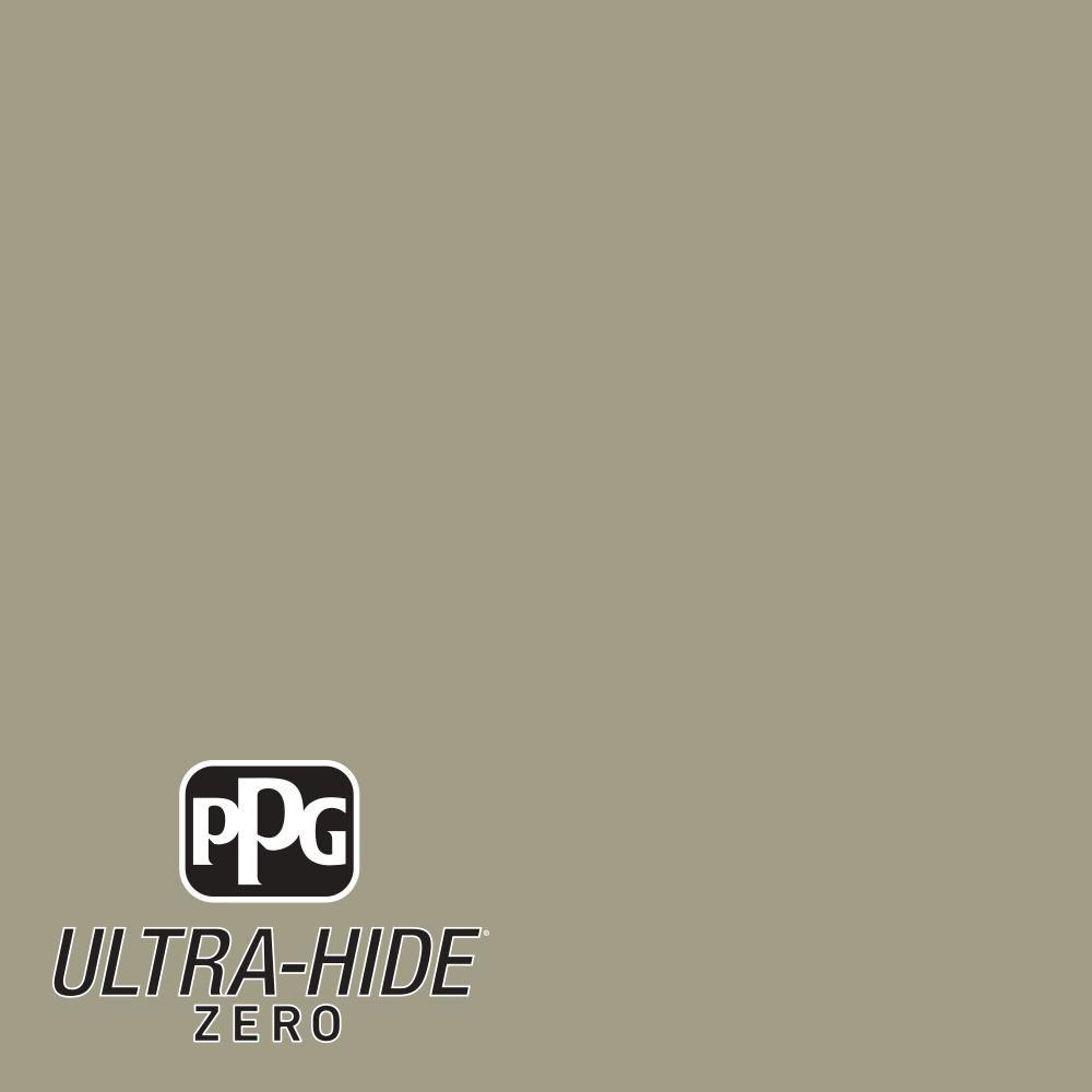 PPG 1 gal. #HDPWN64 Ultra-Hide Zero Khaki Green Eggshell Interior Paint-HDPWN64Z-01E - The Home Depot