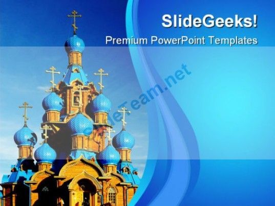 wooden church religion powerpoint templates and powerpoint