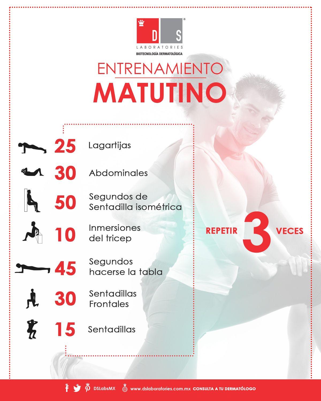 rutina de ejercicios durante la semana