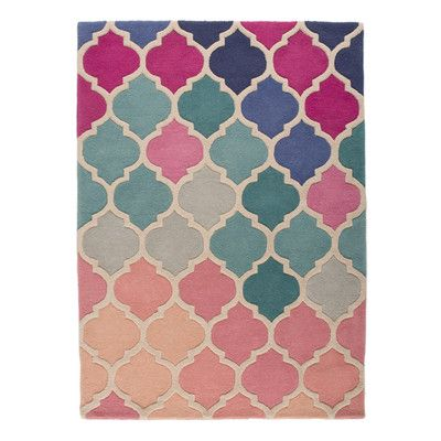 Found it at Wayfair.co.uk - Isere Rosella Pink / Blue Area Rug ...