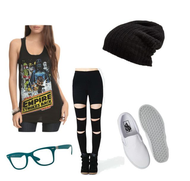 """""""Selene"""" by black-337 on Polyvore featuring Vans, Free People and Ray-Ban"""