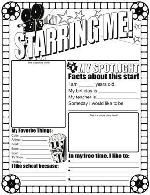image result for hollywood theme classroom templates 2nd