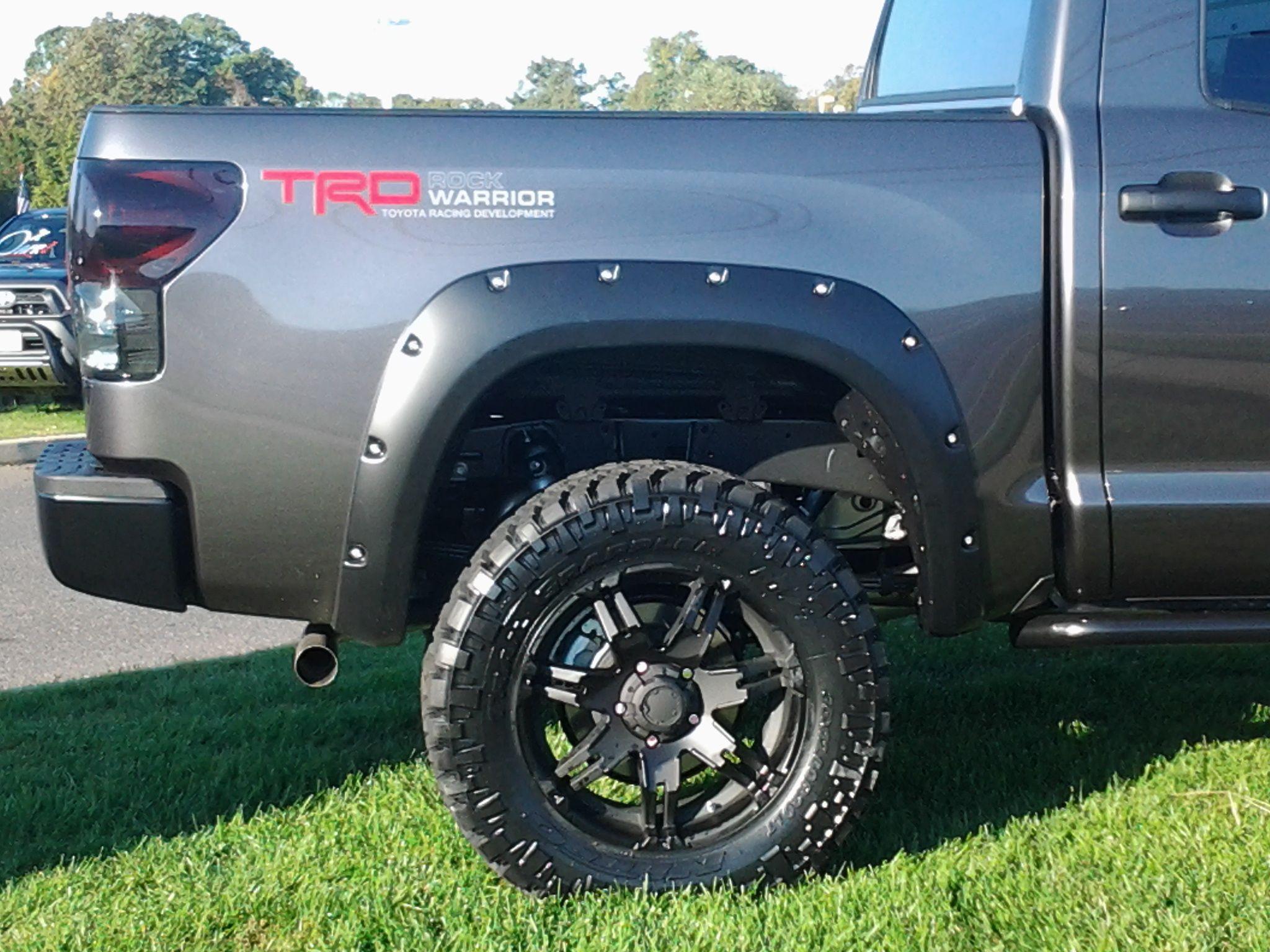 Tro rock warrior toyota racing development truck tires go big or go home