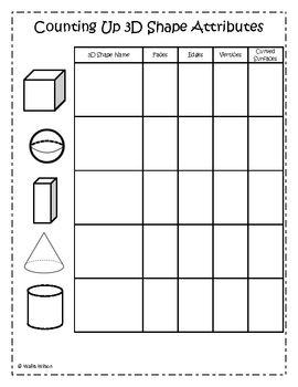 attributes of shapes worksheet casademateo. Black Bedroom Furniture Sets. Home Design Ideas