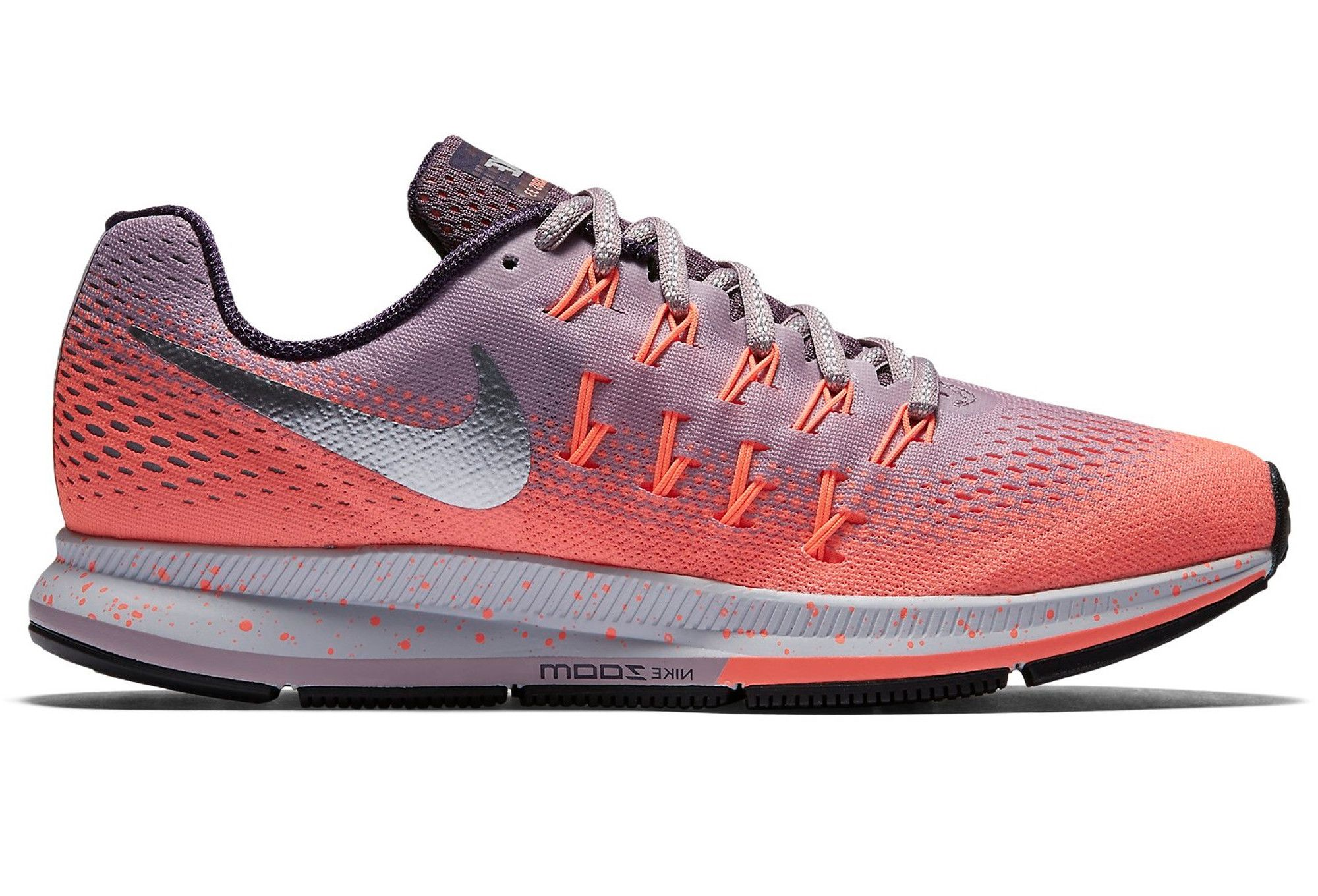 5ff7d8cd6d104 Nike AIR ZOOM PEGASUS 33 SHIELD Rose Violet Femme   Nike   Pinterest ...