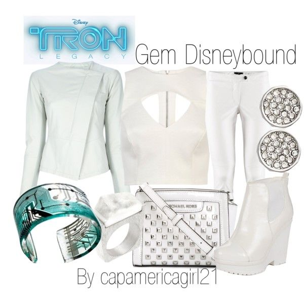 Gem Disneybound by capamericagirl21 on Polyvore