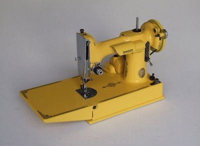 yellow singer featherweight sewing machines - Bing Images
