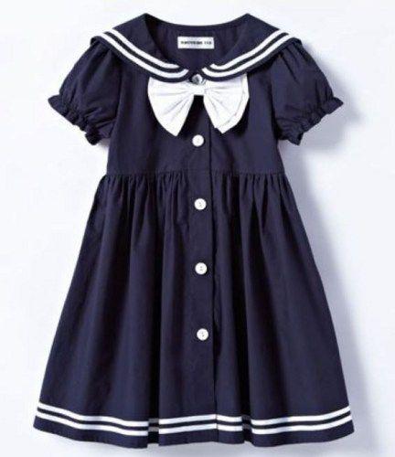 Girls Navy Blue Dress-Props Sailor Dress Toddler Girls-Navy Blue ...