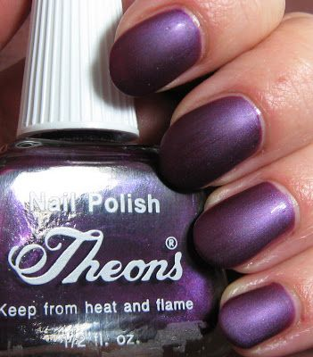 Theons Nail Polish Number 11   Below: Bottle comparison with Essie\'s ...