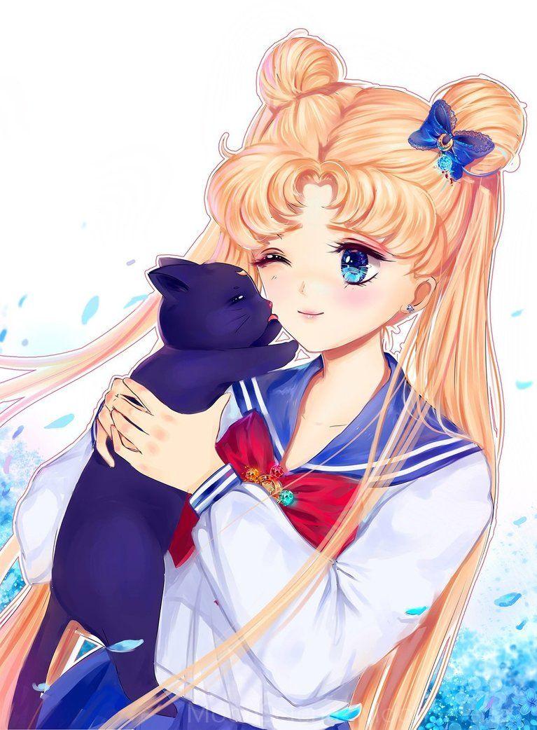 Usagi Tsukino By Moonselena Deviantart Com On Deviantart Sailor