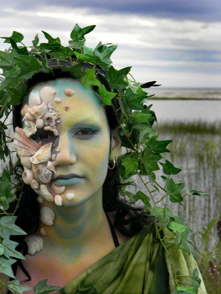 sea monster costumes | Cool face makeup--sea monster costume  sc 1 st  Pinterest & sea monster costumes | Cool face makeup--sea monster costume ...