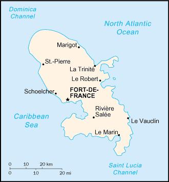 Martinique Travel Guide Wikitravel Martinique Fort De France