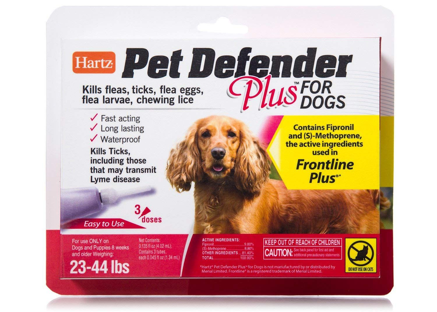 Hartz Pet Defender Plus Flea And Tick Drops For Cats And Kittens More Info Could Be Found At The Image Url This Chewing Lice Flea Treatment Flea And Tick