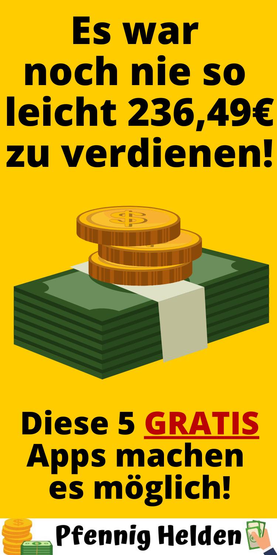 5 Apps mit denen du Geld verdienen kannst! - Pfennig ...