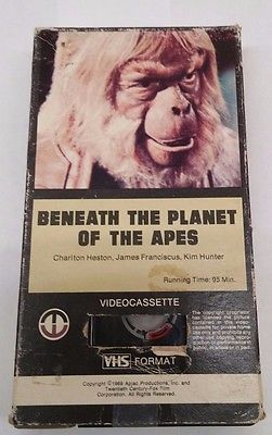 Beneath The Planet Of The Tapes Planet Of The Apes Apes Planets