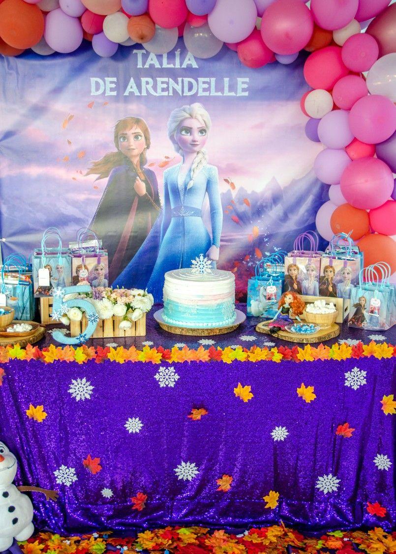 Frozen 2 birthday party in 2020 Birthday parties, 2nd