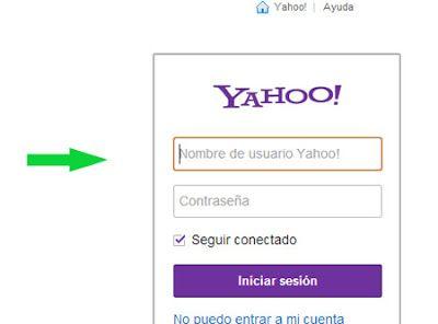Yahoo mail español iniciar sesion