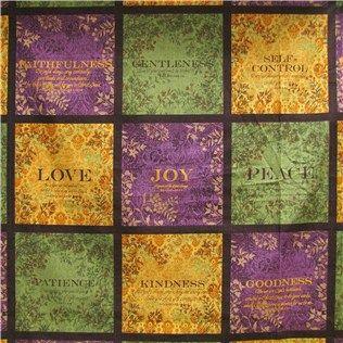 CCT2-6 Fruit of the Spirit Fabric | Quilt Fabrics | Pinterest ... : online quilt fabric shops - Adamdwight.com