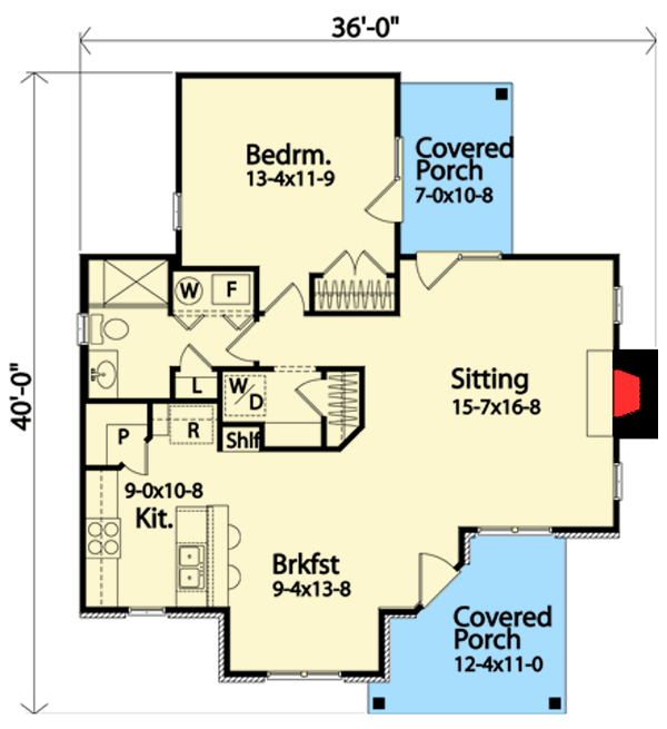 7 Perfect Little Country Retreat Floor Plans Floor Plans
