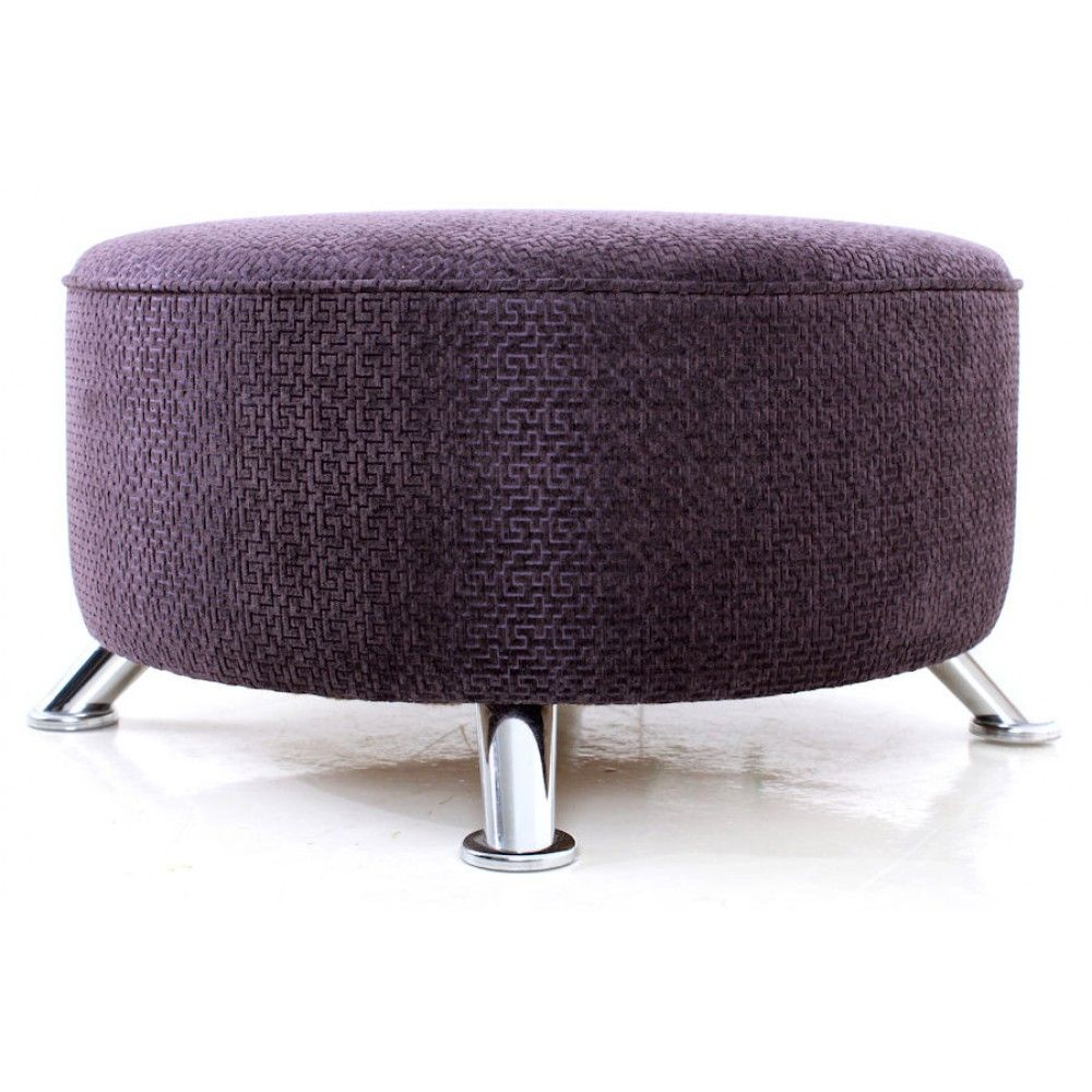 Furniture Reupholstery Near Me Uk Beautiful Foot Stool With Chrome Legs Upholstered In Kirby Design