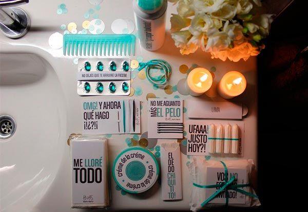 8880908cb EL KIT DE EMERGENCIA PARA TUS 15 AÑOS 2 | Kit de baño | Kit de baño ...