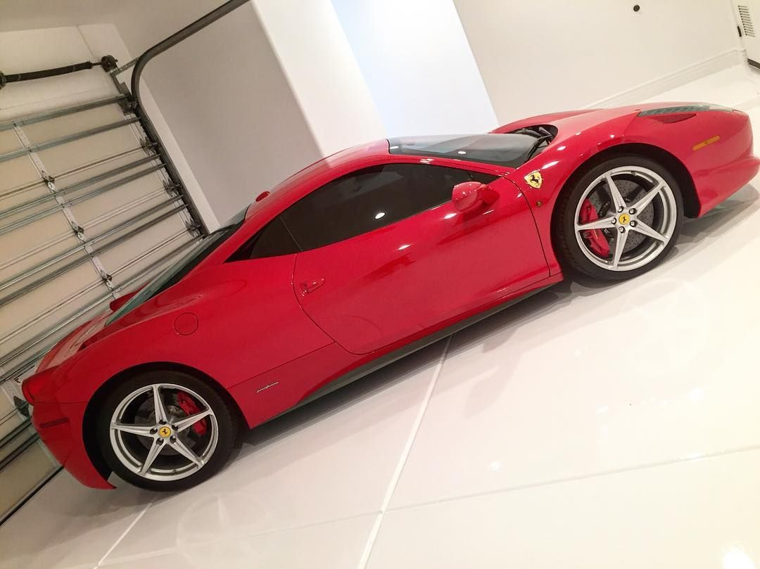 Another Ferrari 458 cleaned protected and tucked away by