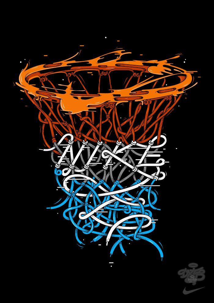 Nike X Dxtr Nike Hoops Basketball Art Sports Basketball Nike