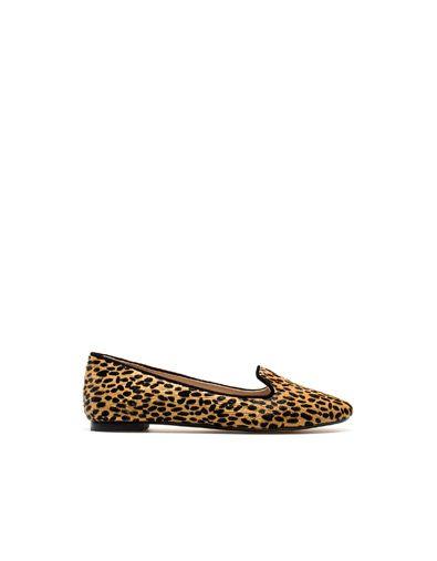 66f5280f SLIPPER LEOPARDO - Zapatos - Mujer - ZARA España | Inspirational ...