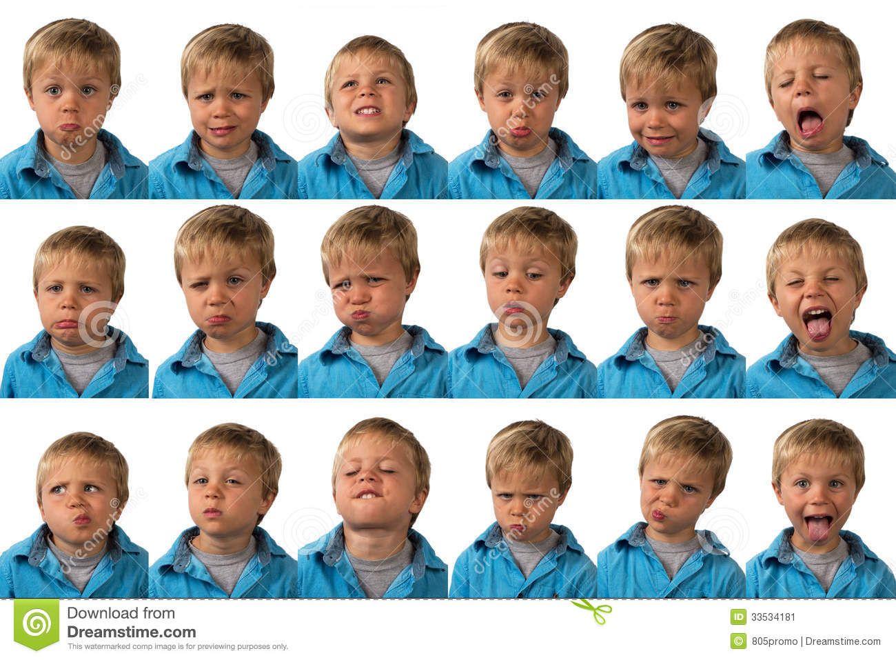 Expressoes Faciais De Idoso