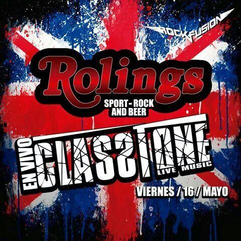 Classtone en el #Rolingscuenca @Rock Fusión