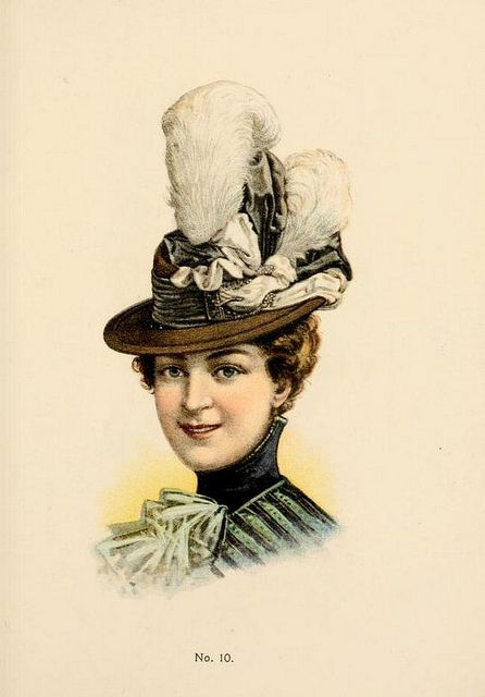 Hats by H O'Neill of New York 1899-1900 Catalogue - Hat No10 | Flickr - Photo Sharing!