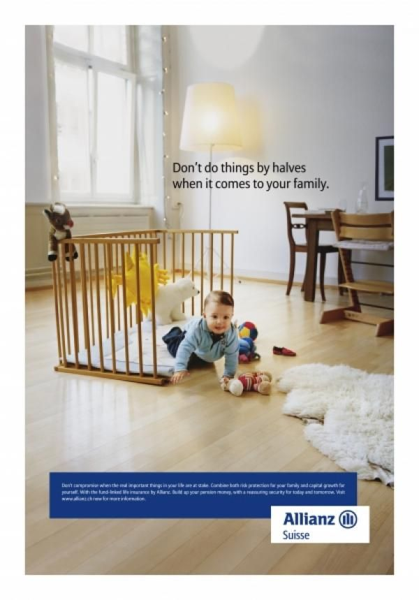 Zurich Playpen Print Ad By Ogilvy Mather Zurich Insurance