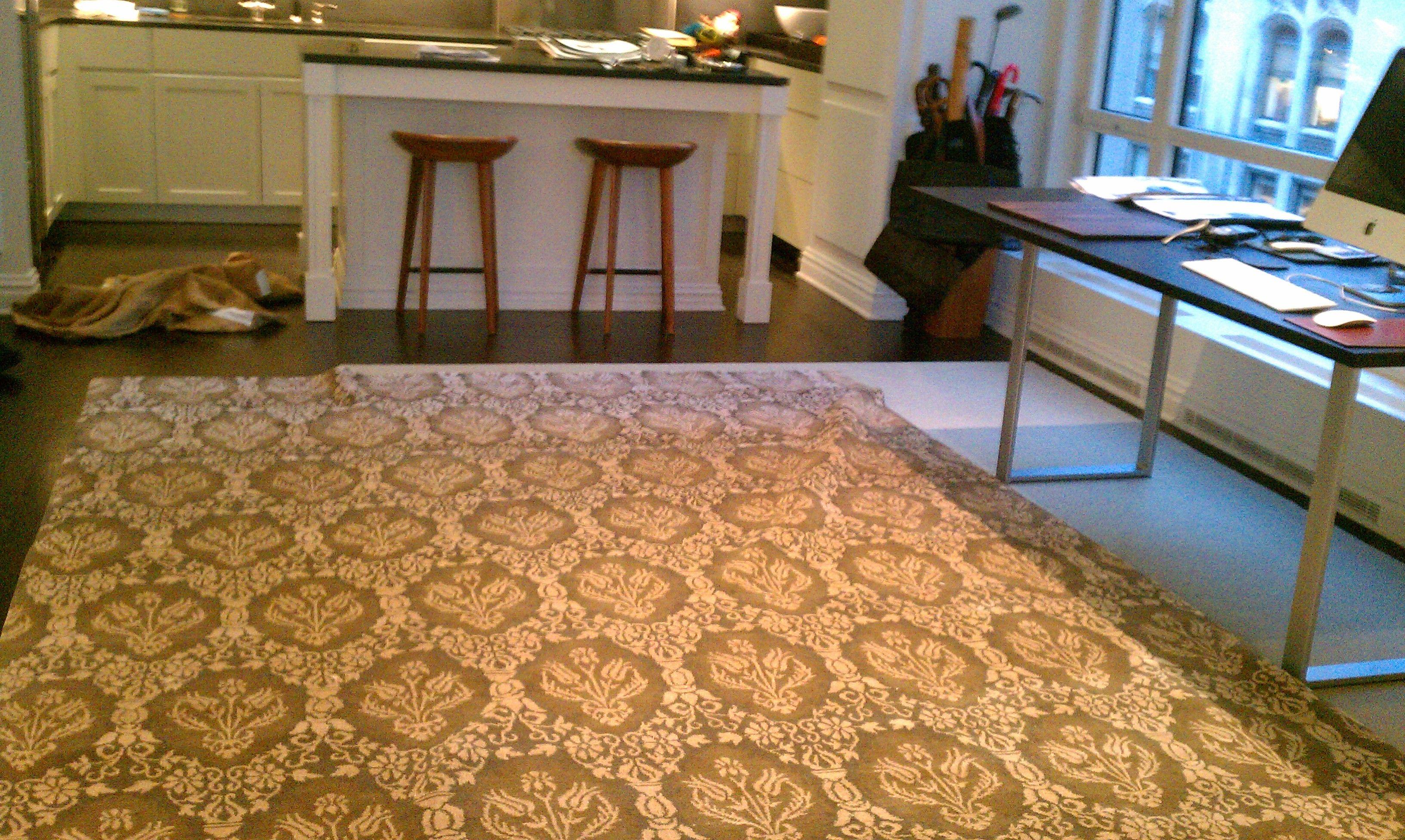 Rug sale basement and floor sample on pinterest handmade for Rugs for basement floors