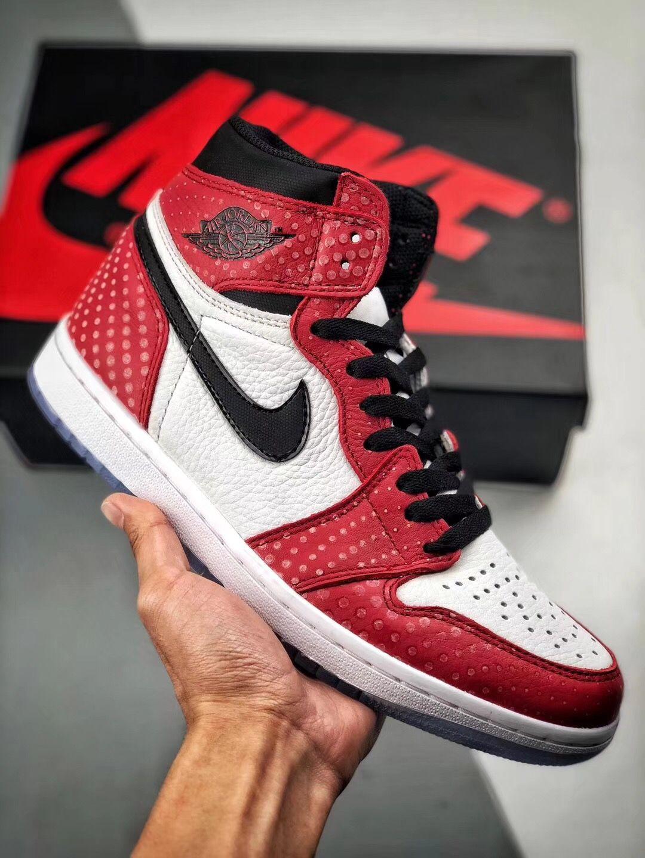 fb6460a0b8b NIKE Air Jordan 1 AJ1 OG Origin Story 555088-602 | Nike Air Jordan ...