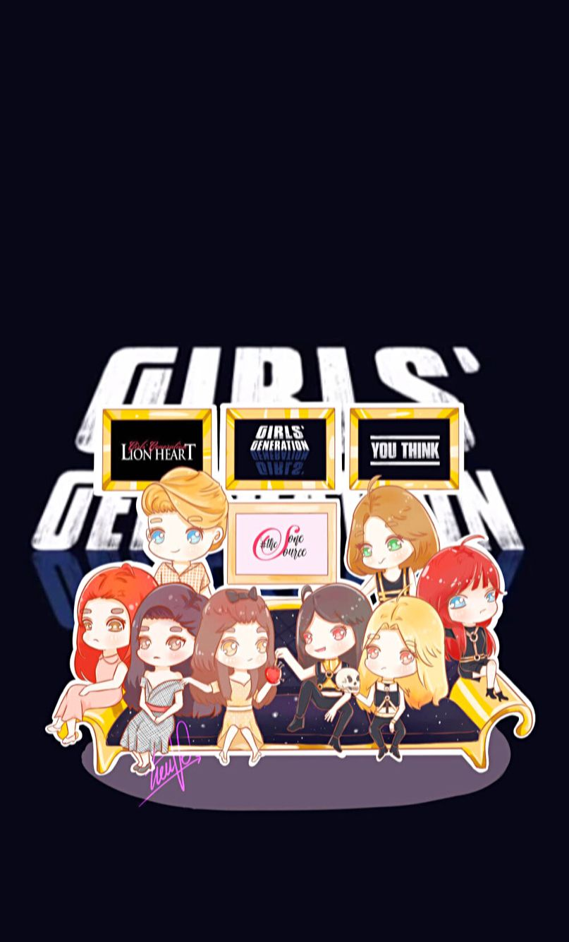 Snsd Girls Generation You Think Lion Heart Iphone Wallpaper Snsd