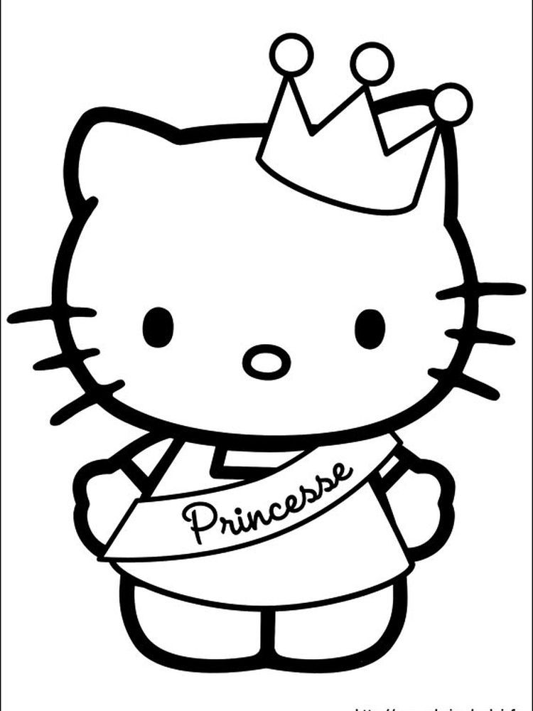 Printable Hello Kitty Coloring Pages For Kids Free Coloring Sheets Hello Kitty Printables Hello Kitty Colouring Pages Hello Kitty Coloring